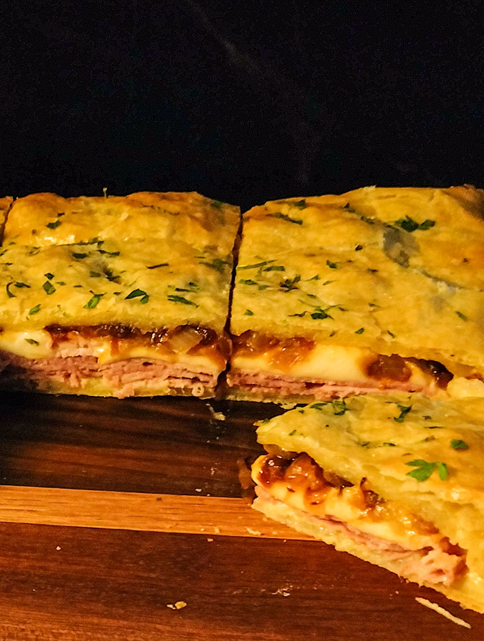 Ham and Cheese Puff Pastry