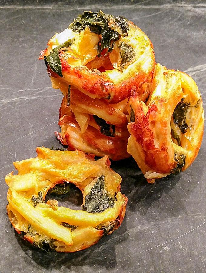 Macaroni and cheese bites and muffins