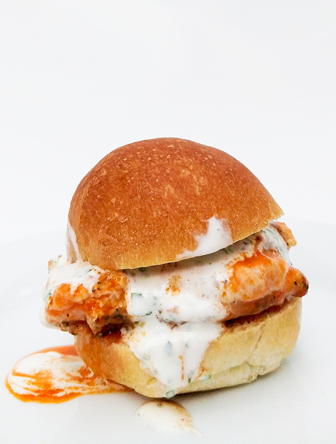 buffalo chicken sliders recipe with ranch dressing