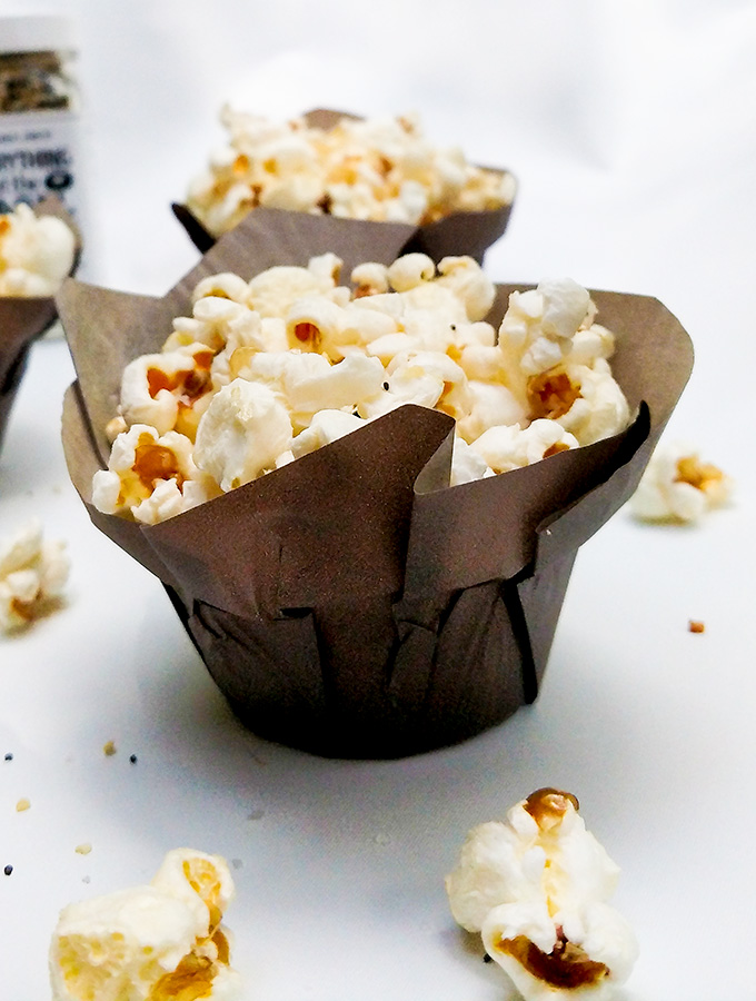 Kettle corn recipe in cute container